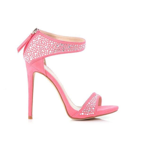 Купить розовые босоножки