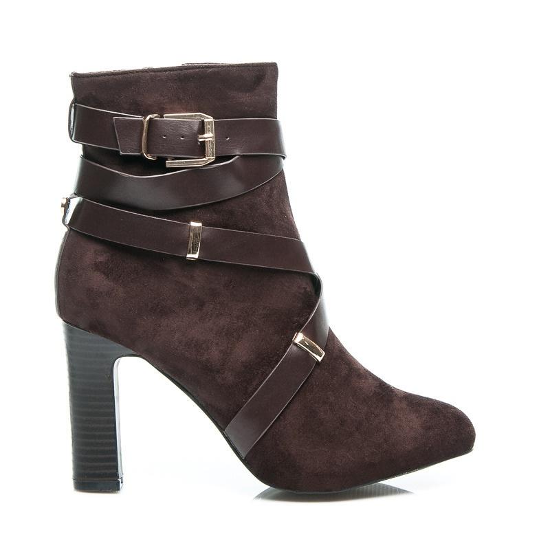 Vysoké boty do špičky - 5210BR