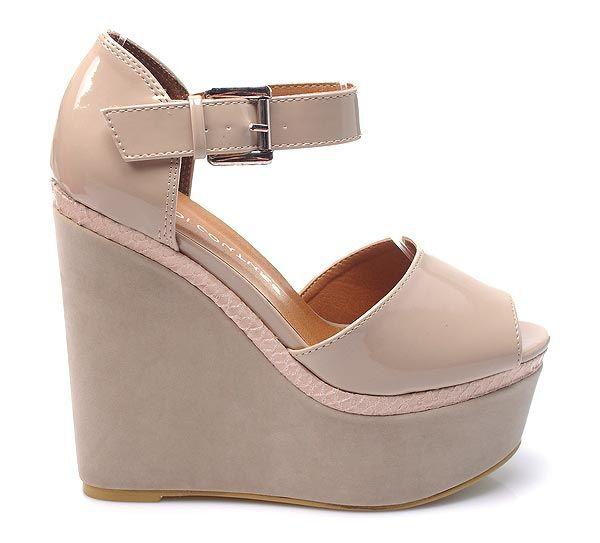 Sandály na platformě Z11BE