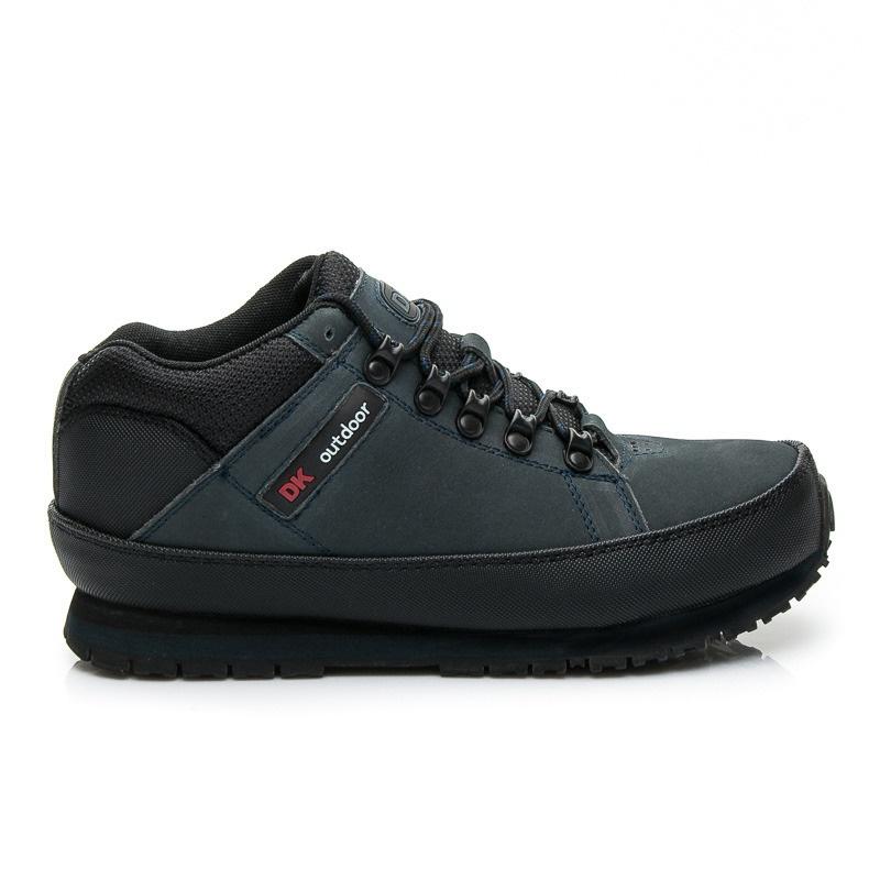 Pohodlné dámské trekové boty tmavě modré - W03M0488N / R15C