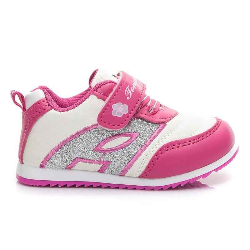Dětské lehoučké boty růžové A902F