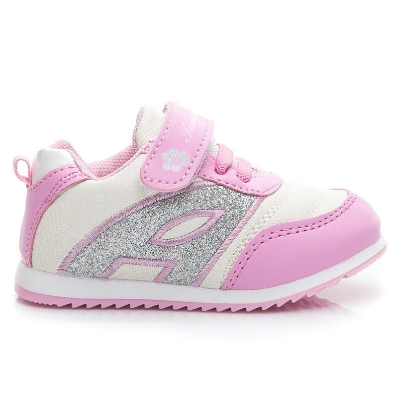 Dětské lehoučké boty růžové A902P