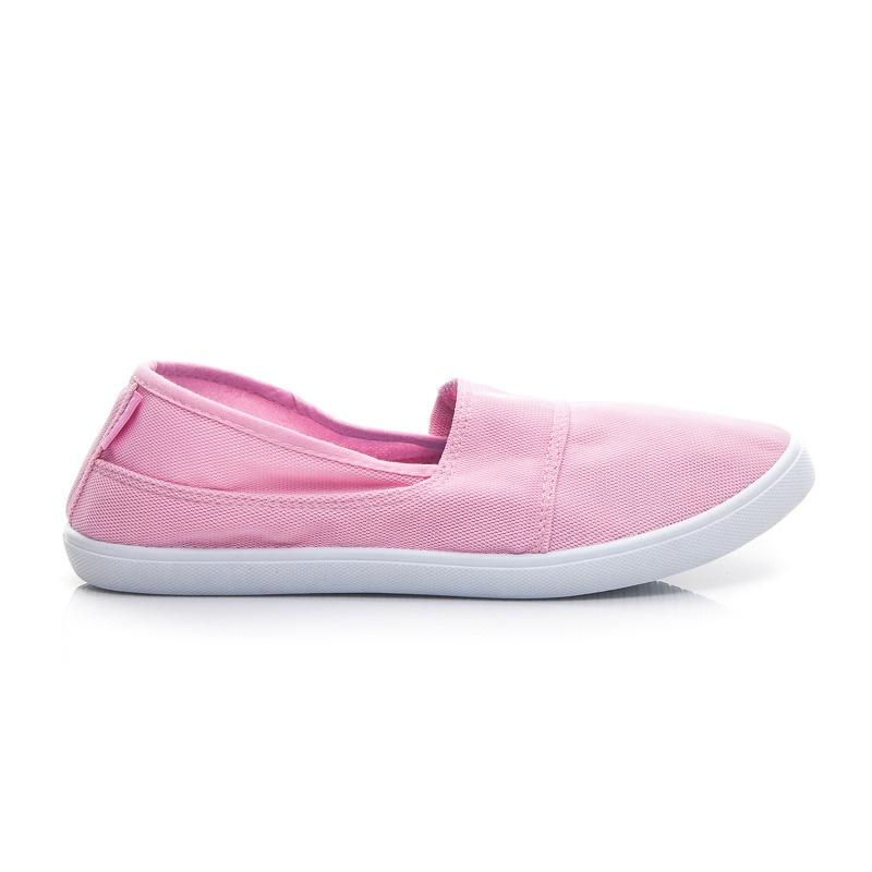 Pohodlné tenisky růžové V21P