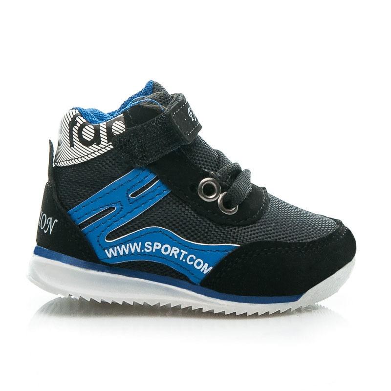 Dětské sportovní boty černé - 10-M.B.R.BL | 20