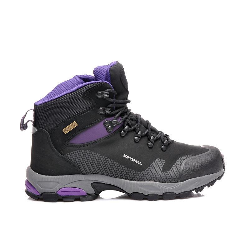 Super trekové boty s membránou fialové 201H369BPU
