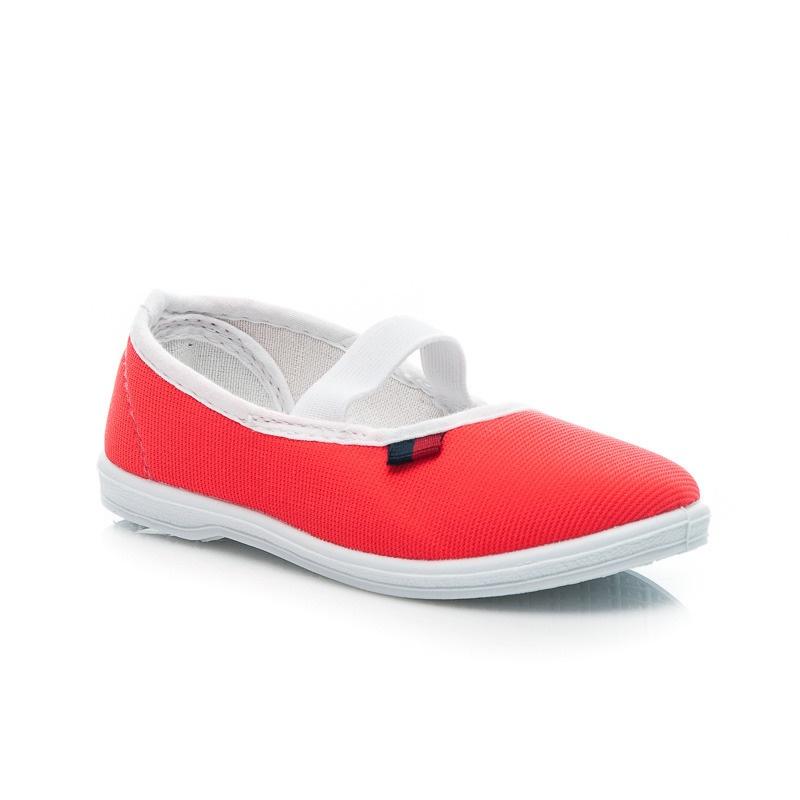 Jednoduché dětské boty červené - TL03R
