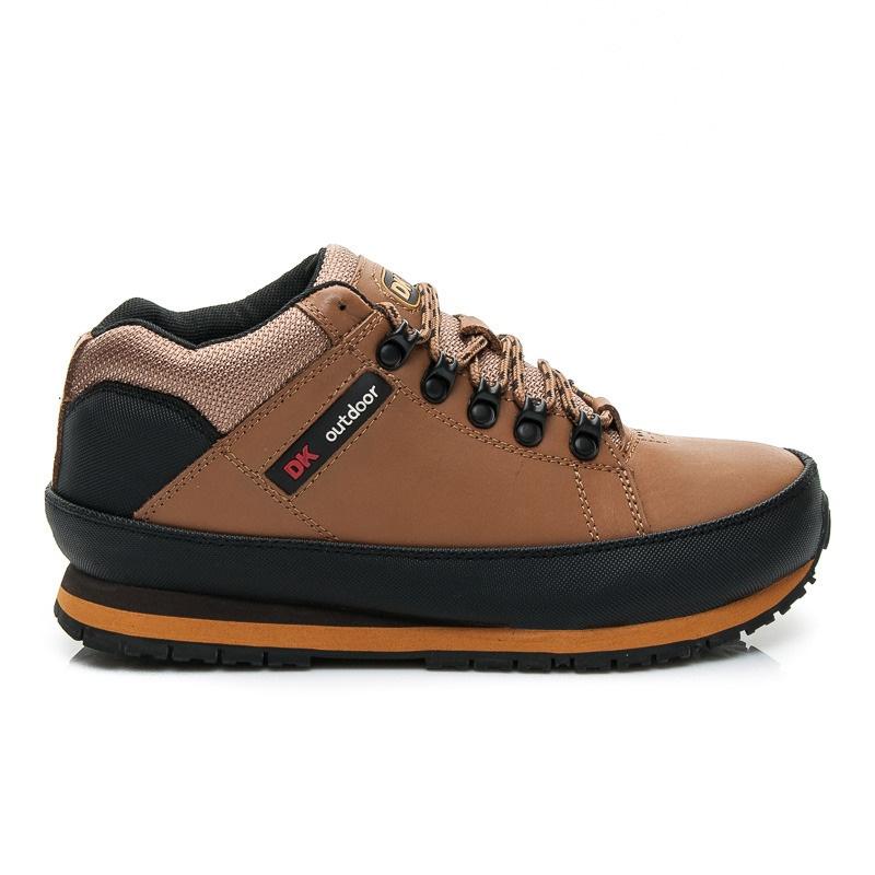 Pohodlné dámské trekové boty světle hnědé W03M0488LT.BR