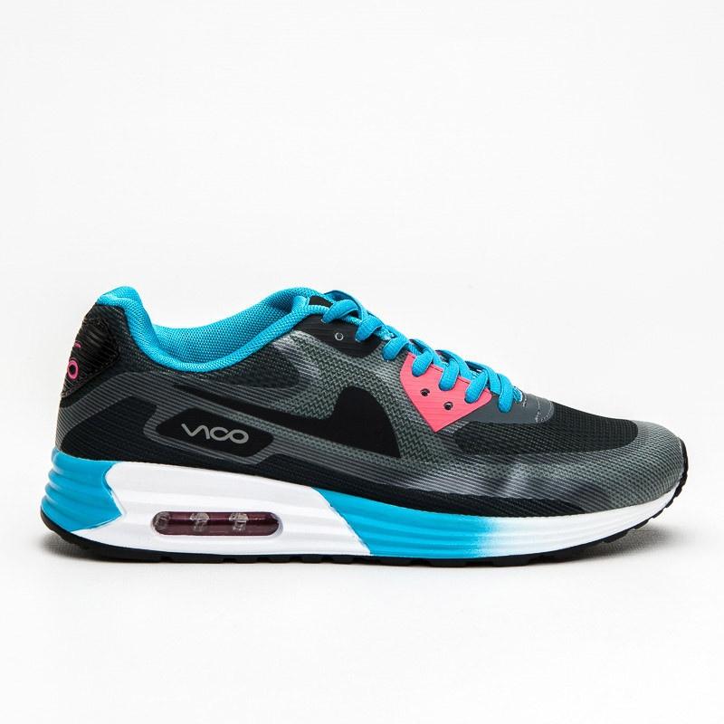 Sportovní boty ve stylu AirMaxů VOP14068B.BL.CO