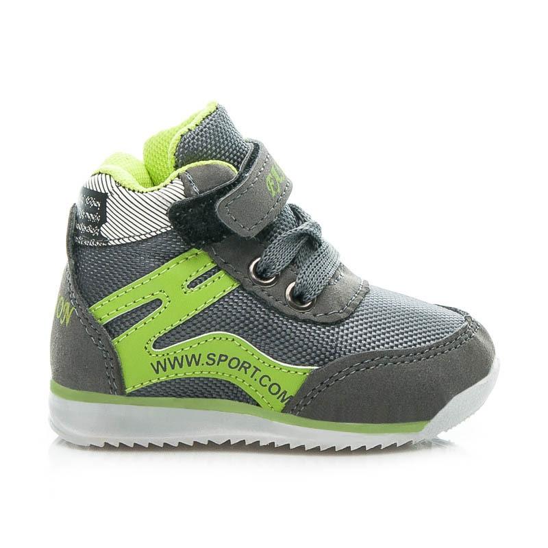 Dětské sportovní boty tmavě šedé - 10-M.D.G.LI