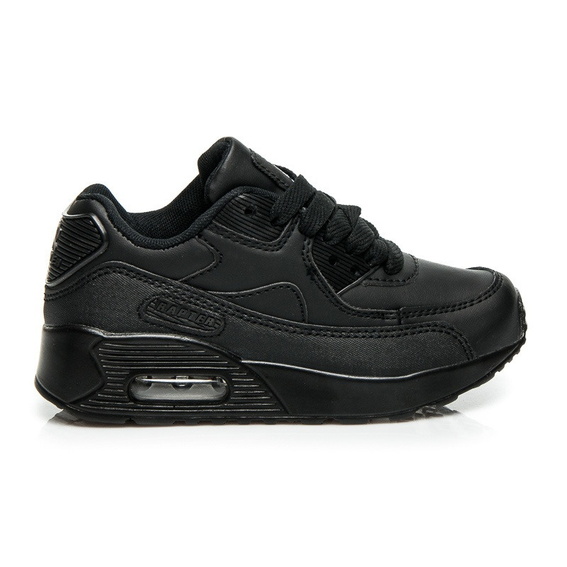 Pohodlné chlapecké tenisky černé - B760B