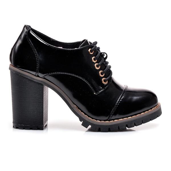 Luxusní kotníkové boty na podpatku U431B