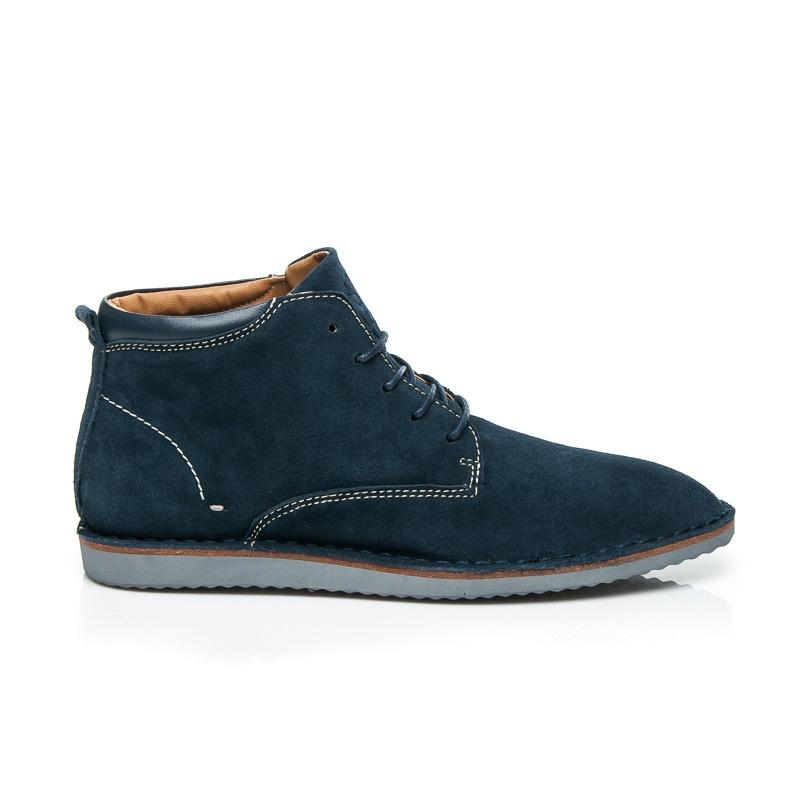 Elegantní semišové boty pro muže - SH27-13N