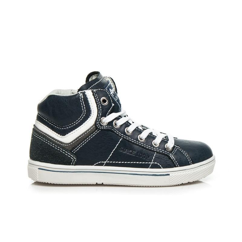 Stylové chlapecké tenisky modré - K151787N