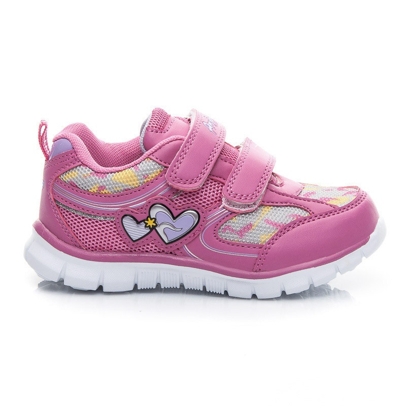 Nádherné dětské tenisky růžové CA51-13889F